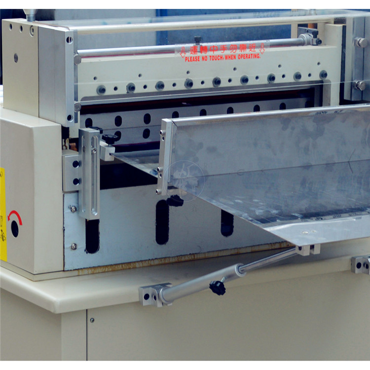 Microcomputer Slicer with Elevating Material Rack Automatic Aluminum Foil Cutting Machine For Sheeting