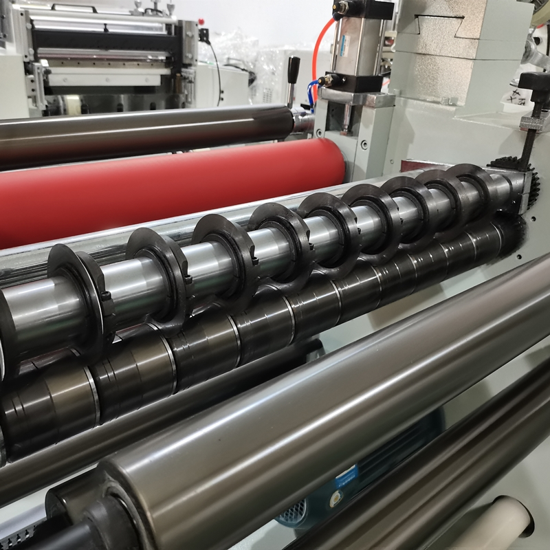 Automatic Roll To Roll Laminating And Slitting Machine