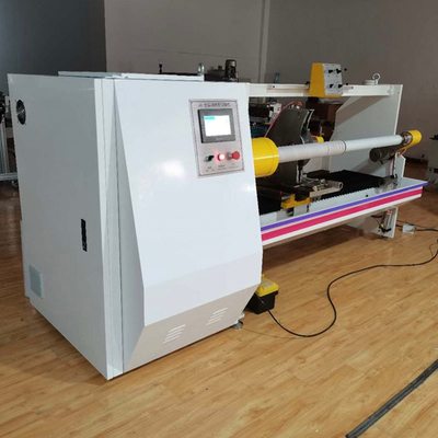 Automatic Single Shaft paper Log Roll Cutting Machine
