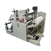Plastic ribbon slitting machine ribbon rewinding machine pvc roll cutting machine