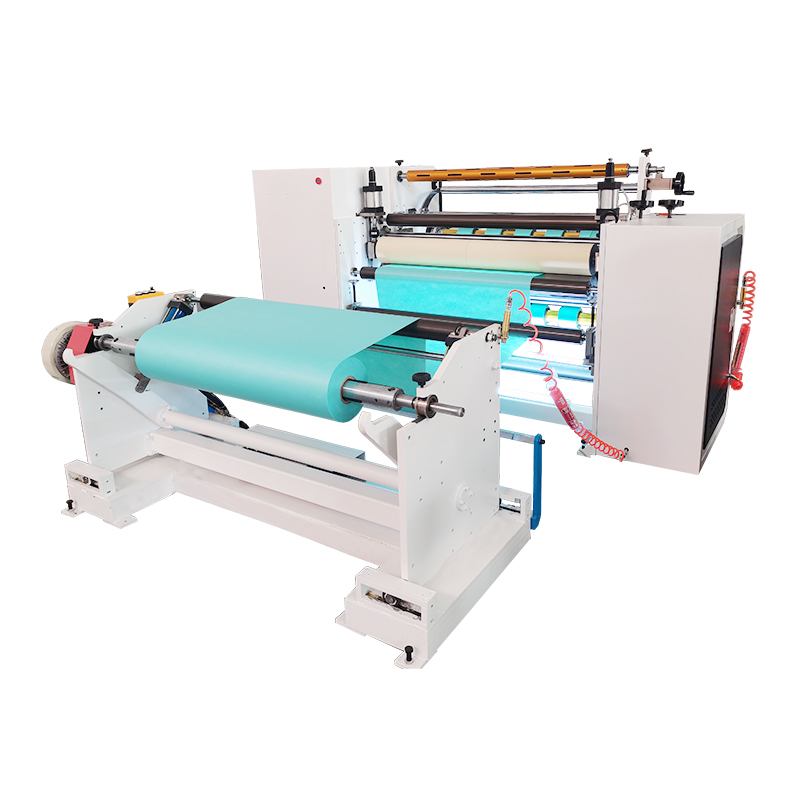 Factory Cloth Nonwoven Fabric Roll Slitting Rewinding Machine
