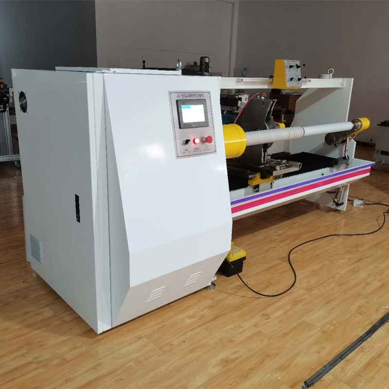 Automatic Single Shaft Roll Foil Cutting Machine
