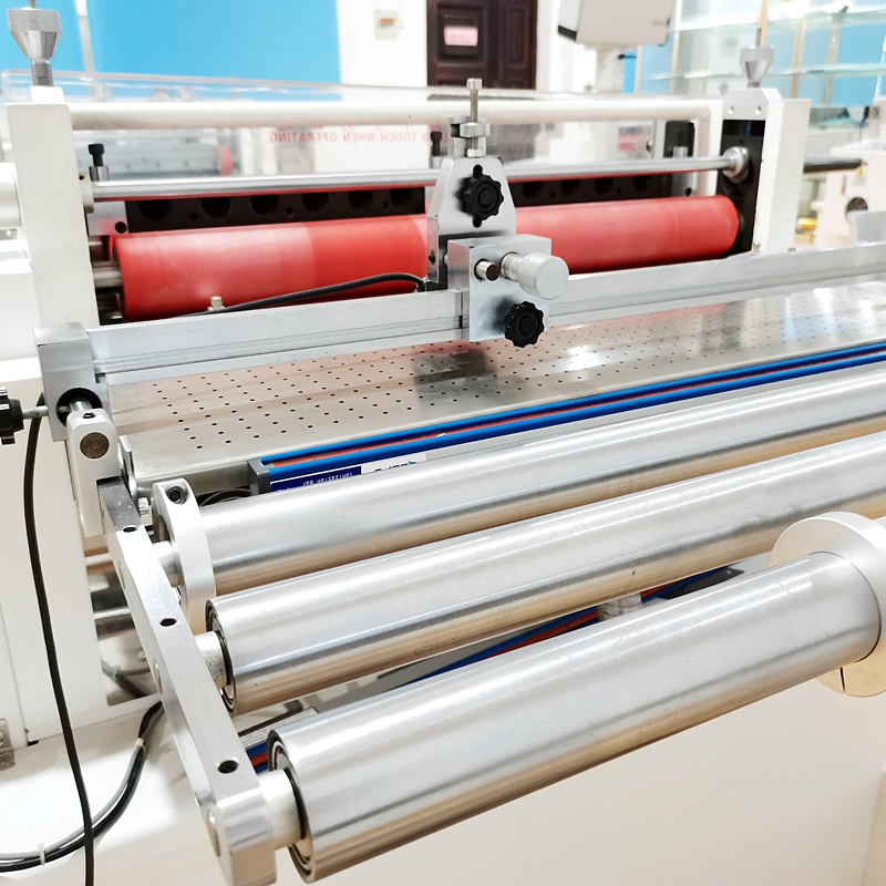 Automatic Vertical Rubber Strip Cutting Machine