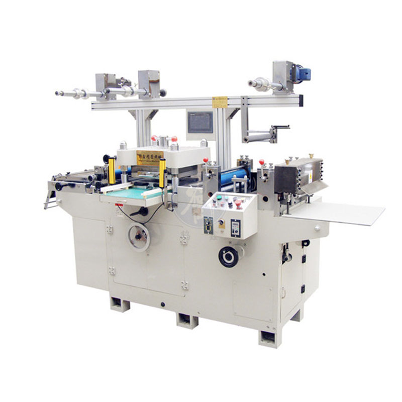 Automatic Label Rubber Roll To Roll Die Cutting Machine