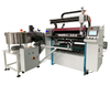 Automatic thermal paper slitter and rewinder machine